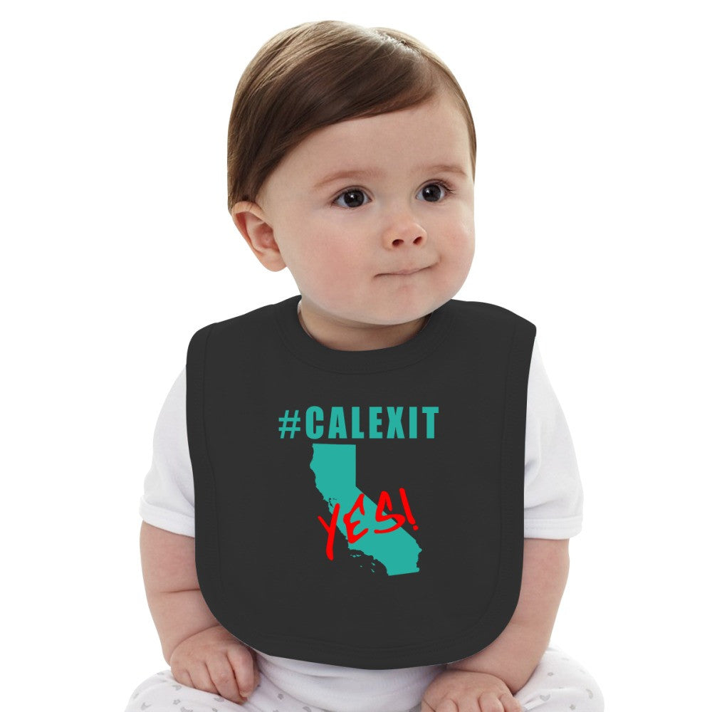 #CALEXIT YES! California Secede Baby Bib