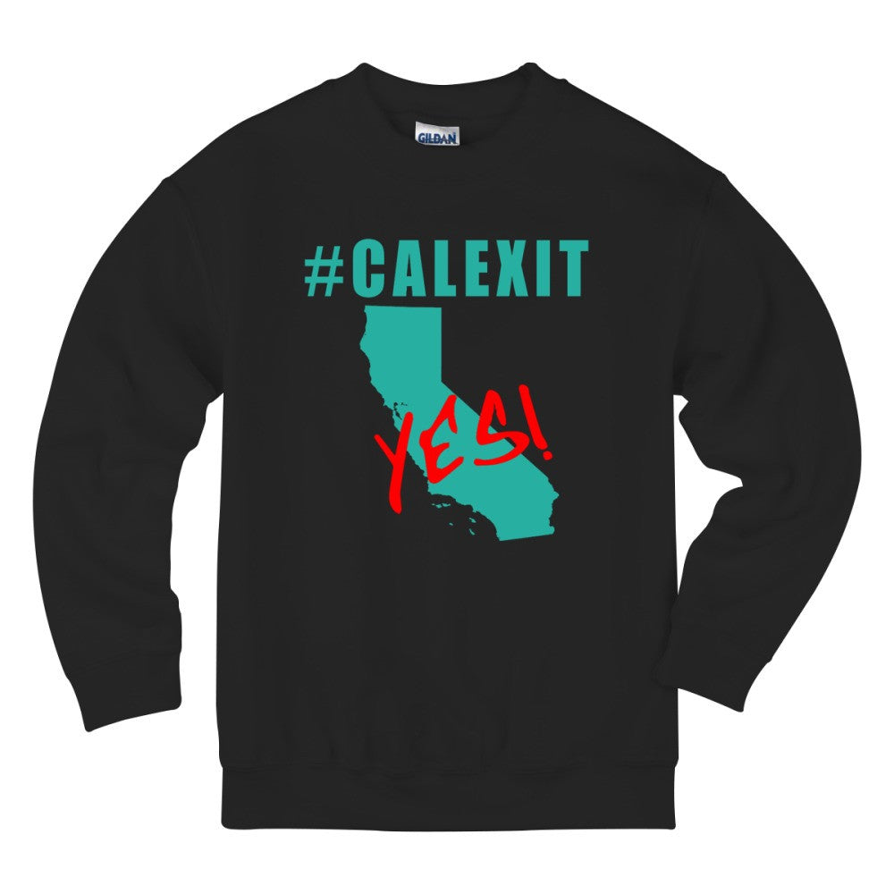 #CALEXIT YES! California Secede Kids Sweatshirt