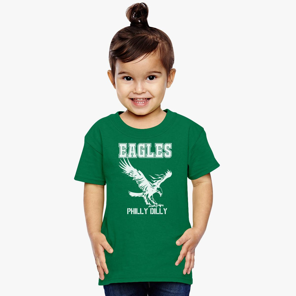 Eagles Philly Dilly Toddler T-shirt – kidozi 437dce1f5