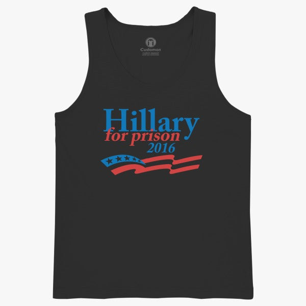 Hillary For Prison  Kids Tank Top