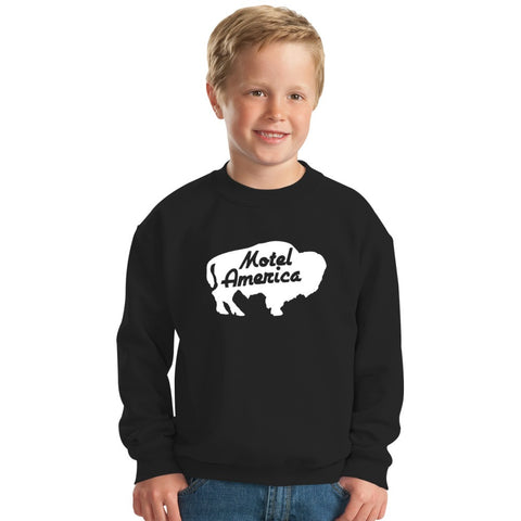 Home Of The Gods Kids Sweatshirt