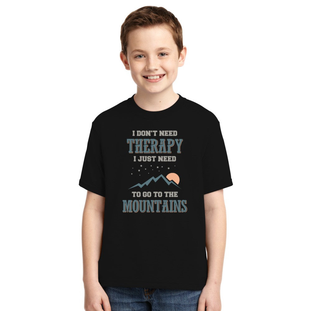 ...I Just Need To Go To The Mountains Youth T-shirt