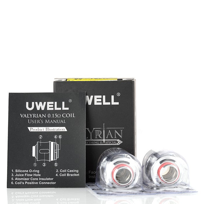 The UWELL Valyrian Replacement Coil Pack - 2 Pack