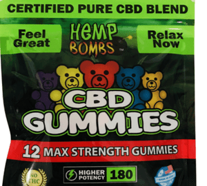Hemp Bombs CBD Gummies Max Strength