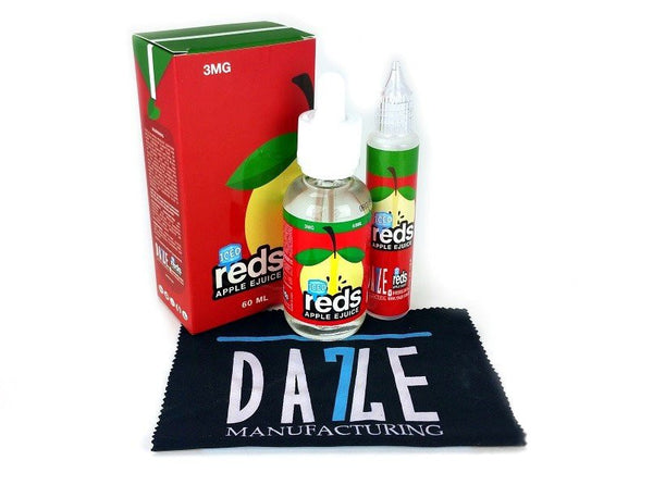 Reds Apple ICED E-Juice by 7 Daze Premium E-liquids - 60mL