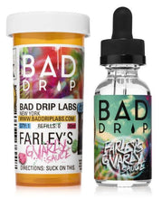 Load image into Gallery viewer, Farley's Gnarly Sauce by Bad Drip - 60 mL