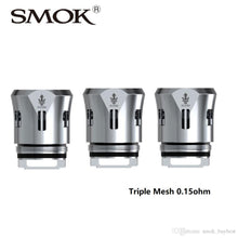 Load image into Gallery viewer, SMOK TFV12 Prince Triple Mesh 0.15ohm Replacement Coils