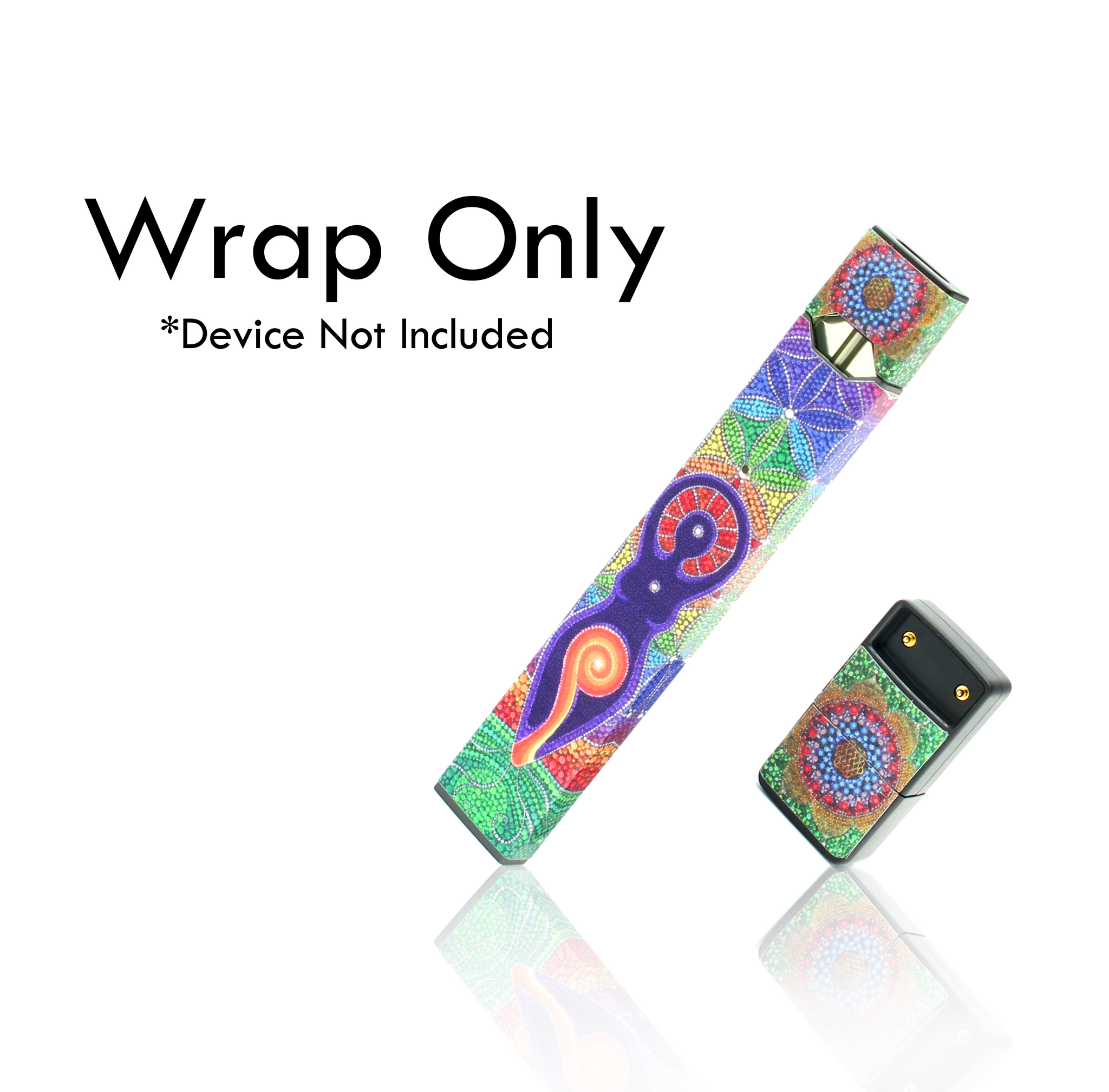 Vape Central Group Wraps for JUUL - Mandala