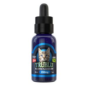 TruBlu Bluefin Tuna - CBD Cat Tincture Oil by Blue Moon Hemp 30ML