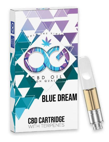 OG CBD -  Compatible Premium CBD Oil Cartridge 500mg