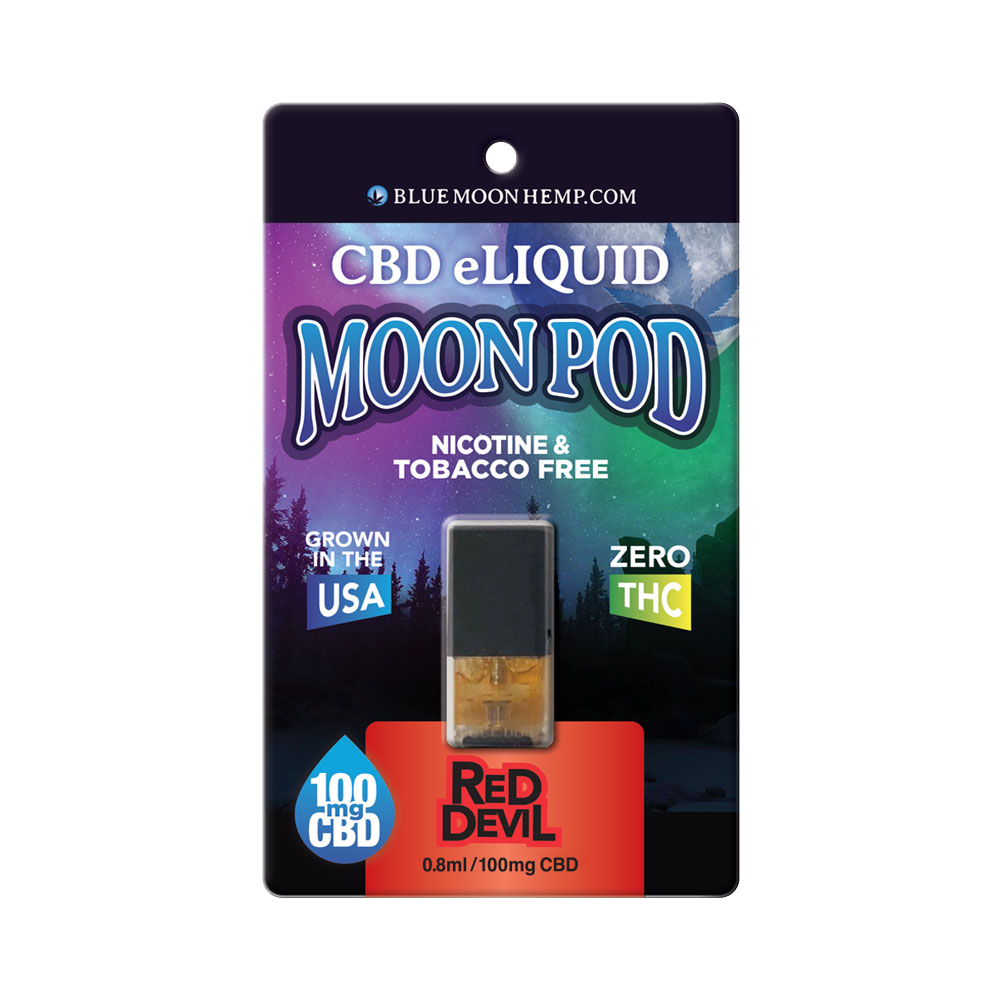 Red Devil CBD Moon Pod by Blue Moon Hemp