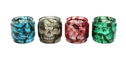 SMOK TFV8 Big Baby Custom Bulb Glass - Skulls (ONLY GLASS)