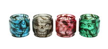 Load image into Gallery viewer, SMOK TFV8 Baby Custom Bulb Glass - Skulls (ONLY GLASS)