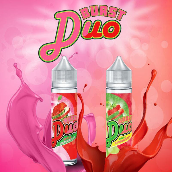 Kiwi Strawberry Burst-Duo by Burst eLiquid 60mL