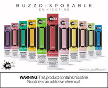 Load image into Gallery viewer, Buzz Barz Disposable Vape Device - Puff Bar