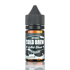 Nitro's Cold Brew Coffee Salt Nic - White Chocolate Mocha 30mL