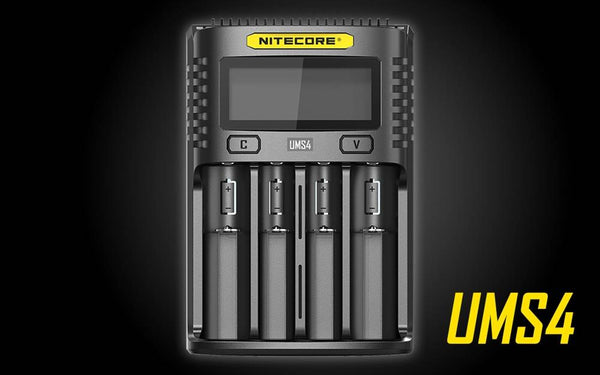 Nitecore UMS4 Intelligent USB Four-Slot Charger