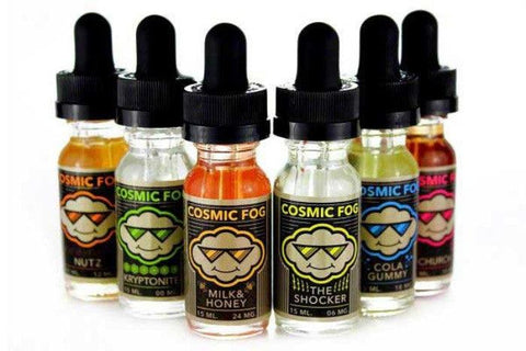 Cosmic Fog e juice Kryptonite, Milk & Honey & The Shocker 30ml & 60ml