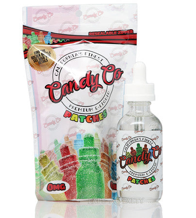 Candy Co E-Liquid Patches Flavor 60ML - 3MG & 6MG