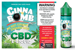 CBD Infused Cinnabomb by Liquid Artisan Labs - 60mL