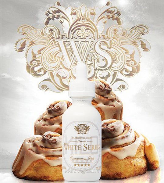 White Series Cinnamon Roll Premium E-Liquid - By Kilo 60ML