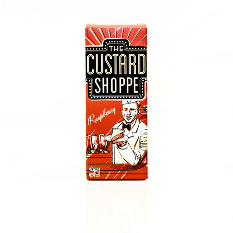 The Custard Shoppe - Raspberry by Jam Monster - 100 ML
