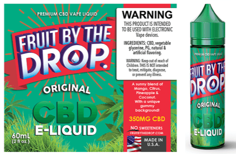 CBD Infused Fruit By The Drop by Liquid Artisan Labs - 60mL