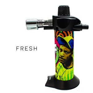 "Limited Edition: Pre-Wrapped Newport Zero Mini 5.5"" Butane Torch"