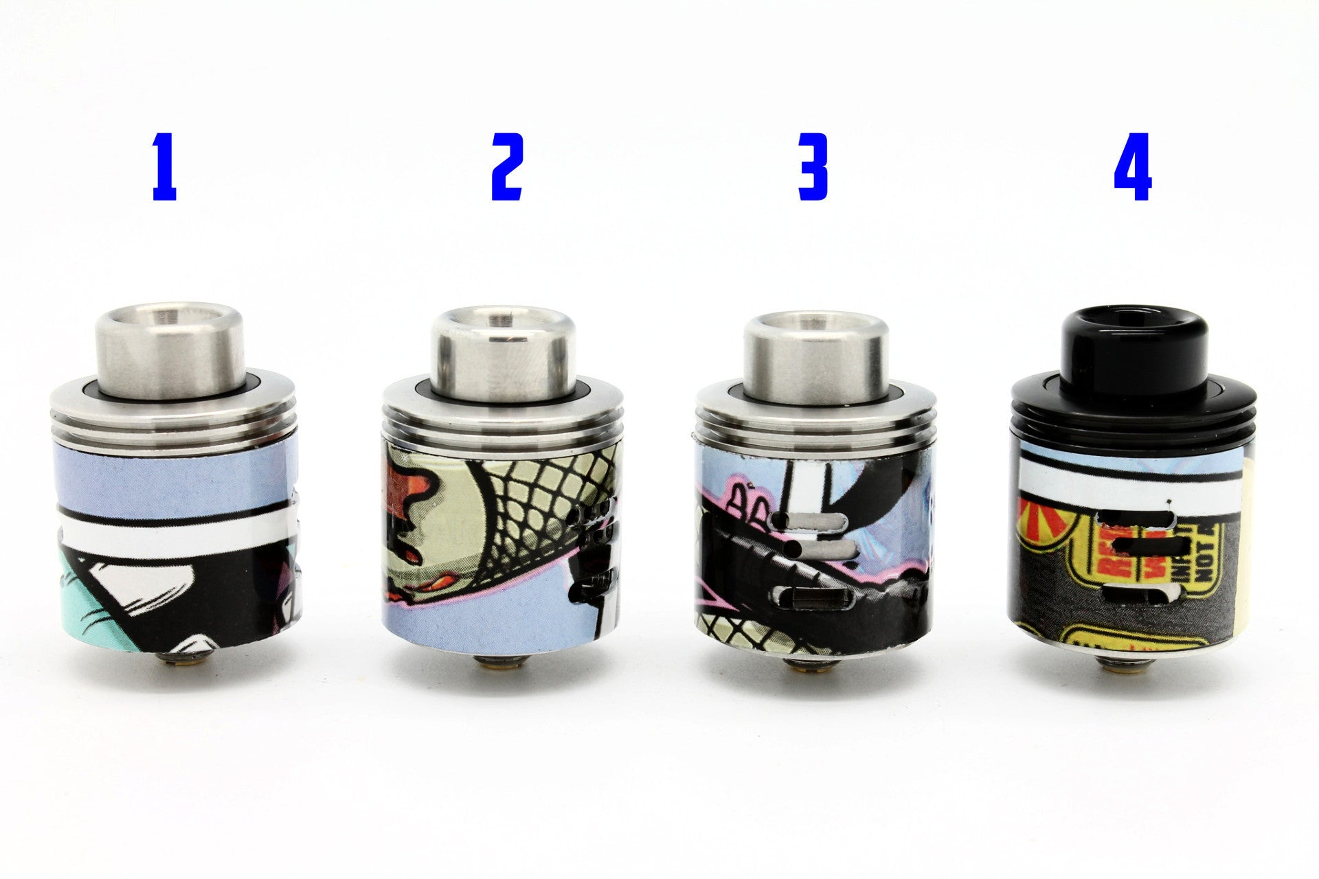 Wotofo Freakshow RDA V2 25mm VCG Custom design