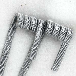 2x Staple Staggered Fused Clapton Coils - By GEEKVAPE