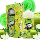 Green Apple Sour Straws by Bazooka Vape - 60mL