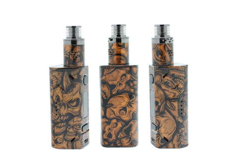 "Custom Painted Matching Smoant Battlestar and Mad Hatter V2 ""Copper Skulls"" Edition"