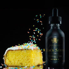Load image into Gallery viewer, Black Series Birthday Cake Premium E-Liquid - By Kilo 60mL