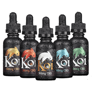 Infused 500MG Strength Vape Liquid by Koi