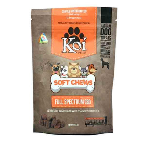 Koi Full Spectrum Infused Soft Chews for Pets