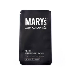 Mary's Nutritionals Elite Transdermal Patch - 10mg Hemp Extract