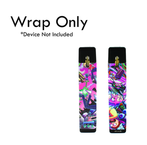 Vape Central Group Wraps for Mylé!