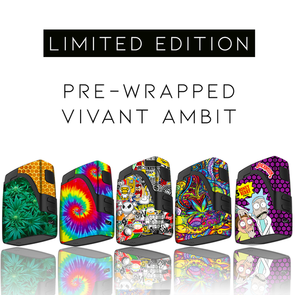 Limited Edition: Pre-Wrapped Vivant Ambit Dry Herb Kit