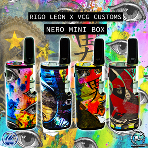 Rigo Leon X VCG Customs: Nero Mini Box Pre-Wrapped