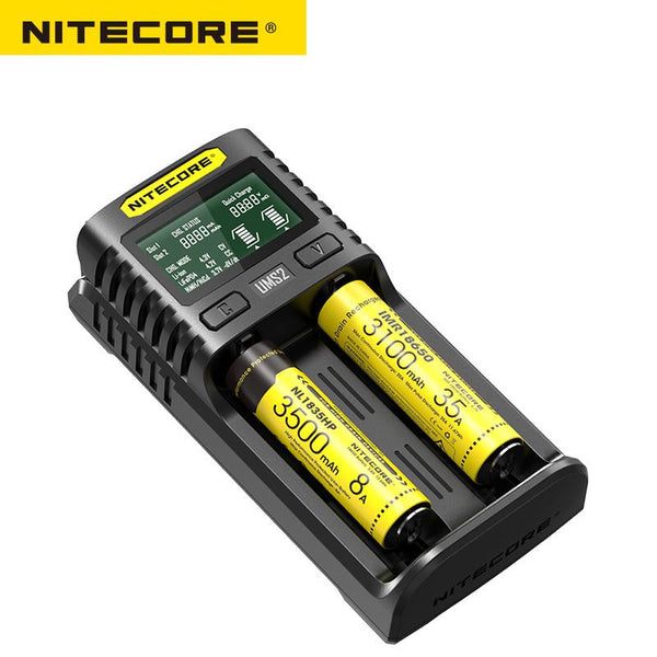 Nitecore UMS2 Intelligent USB Dual-Slot Charger