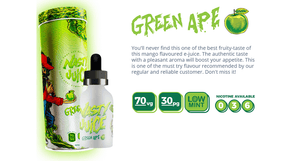 Green Ape - Yummy Fruity Series by Nasty Juice - 60ML