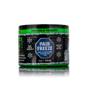 HBombs Pain Freeze Topical Rub
