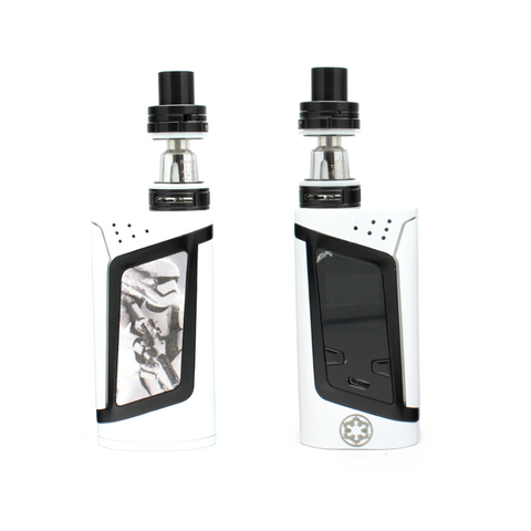 "SMOK Alien 220W Kit - ""Heroes & Villains"" Edition - Stormtrooper - Custom Painted + Engraved"