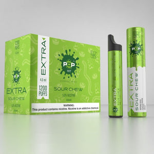 POP XTRA EXTRA Pod System Disposable Vape Device - 1200 Puffs Hit - From $2.95