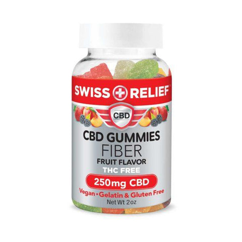 CBD Gummies with Fiber by Swiss Relief - 250MG