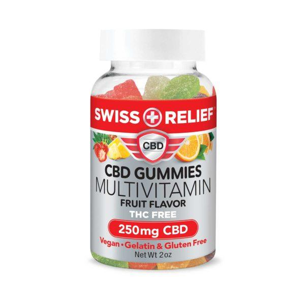 CBD Gummies with Multi Vitamin by Swiss Relief - 250MG