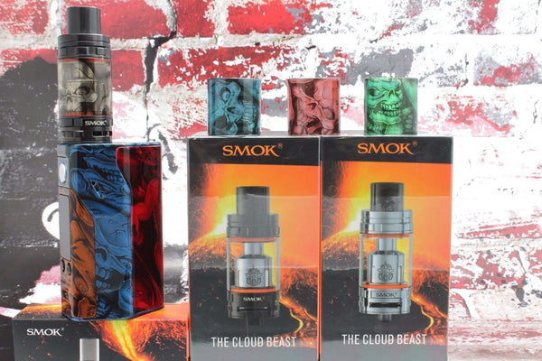 SMOK TFV8 Cloud Beast Custom Glass - Skulls (ONLY GLASS)