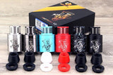 Mad Hatter V2 RDA by Advken Rebuildable Velocity Style Deck Custom VCG Designs