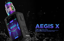 Load image into Gallery viewer, GeekVape Aegis X Zeus Sub-Ohm Box Mod Starter Kit