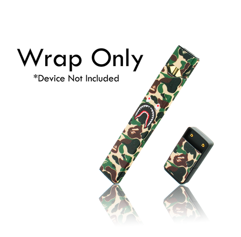 Vape Central Group Wraps for JUUL  - Bape Camo